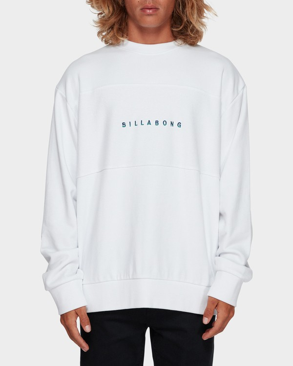 0 The Boss Crew White 9591606 Billabong