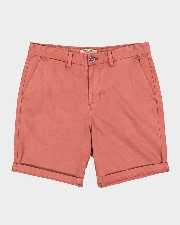 0 NEW ORDER WAVE WASH WALKSHORTS Red 9591713 Billabong