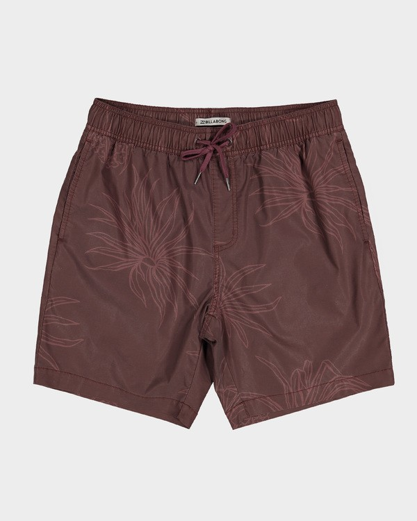 0 Larry Layback Sundays Walkshorts Red 9591715 Billabong