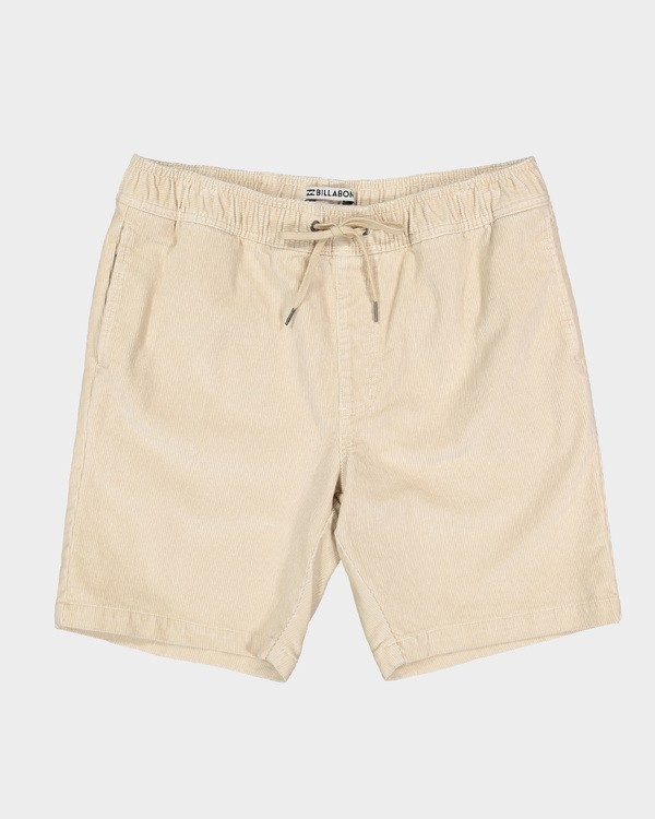 0 LARRY LAYBACK CORD WALKSHORTS Beige 9591716 Billabong