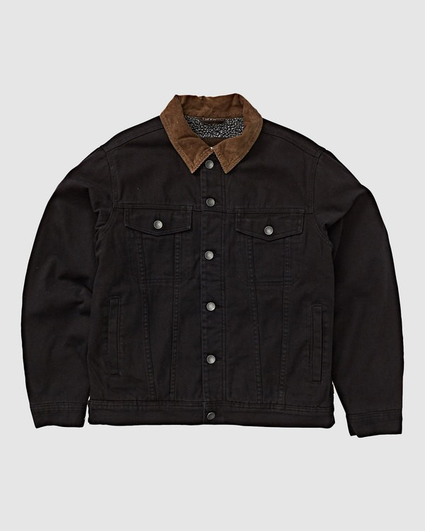 0 BARLOW TRUCKER JACKET Black 9591911X Billabong