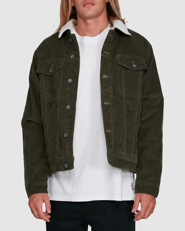 0 Barlow Trucker Green 9591911X Billabong