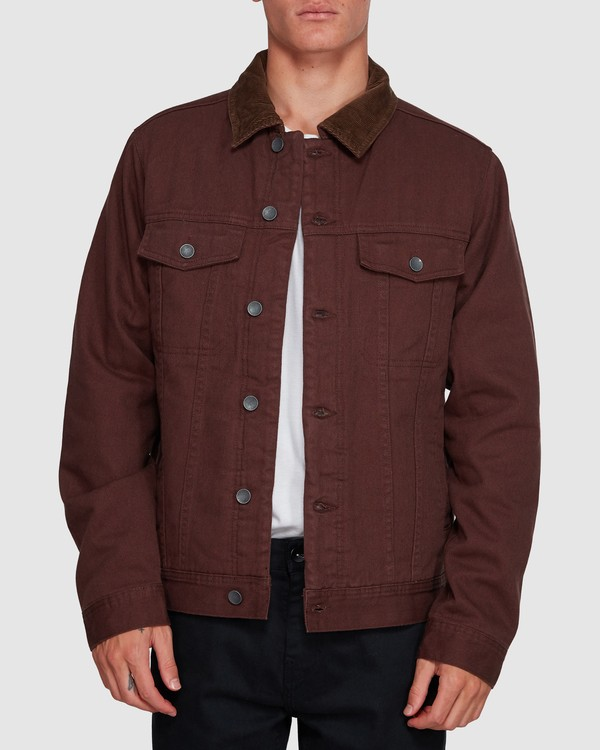 0 Barlow Trucker Jacket Brown 9591911X Billabong