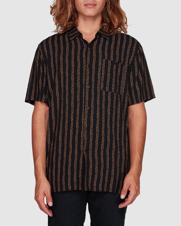 0 Tucker Vert Short Sleeve Shirt Black 9592220M Billabong
