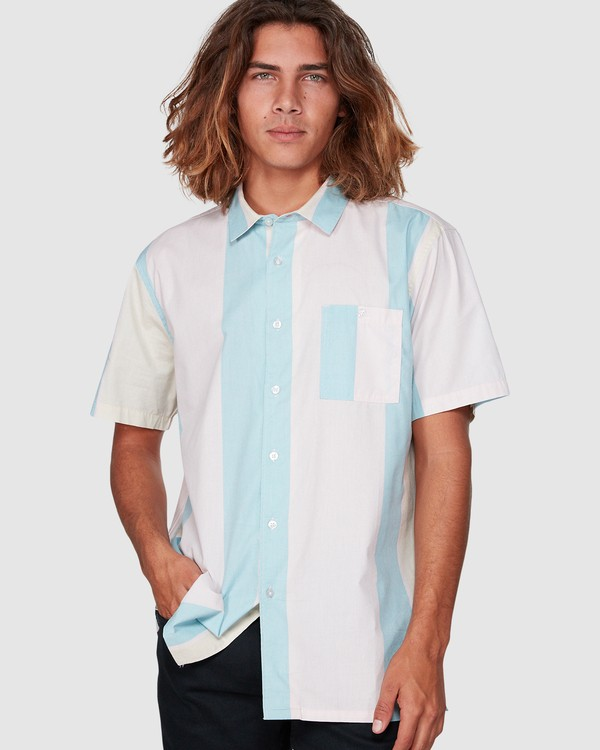 0 HUX SHORT SLEEVE SHIRT Pink 9592240M Billabong