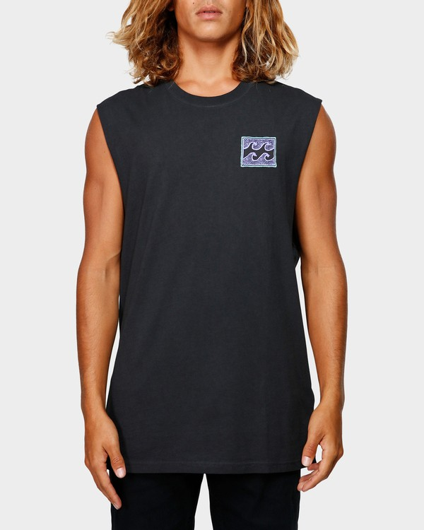 0 Full Froth Muscle Tee Black 9592505 Billabong