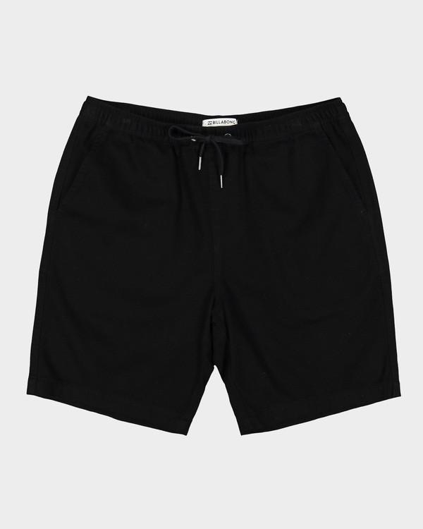 0 Larry Layback Twill Shorts Black 9592733 Billabong