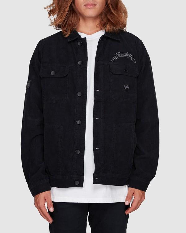 0 Metallica Black Album Jacket Grey 9592901 Billabong