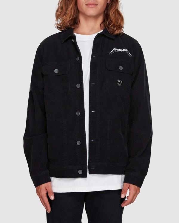 0 Andy Irons Metallica Jacket Black 9592902 Billabong
