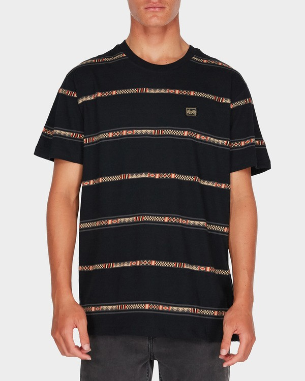 0 ATLAS TEE Black 9595003 Billabong