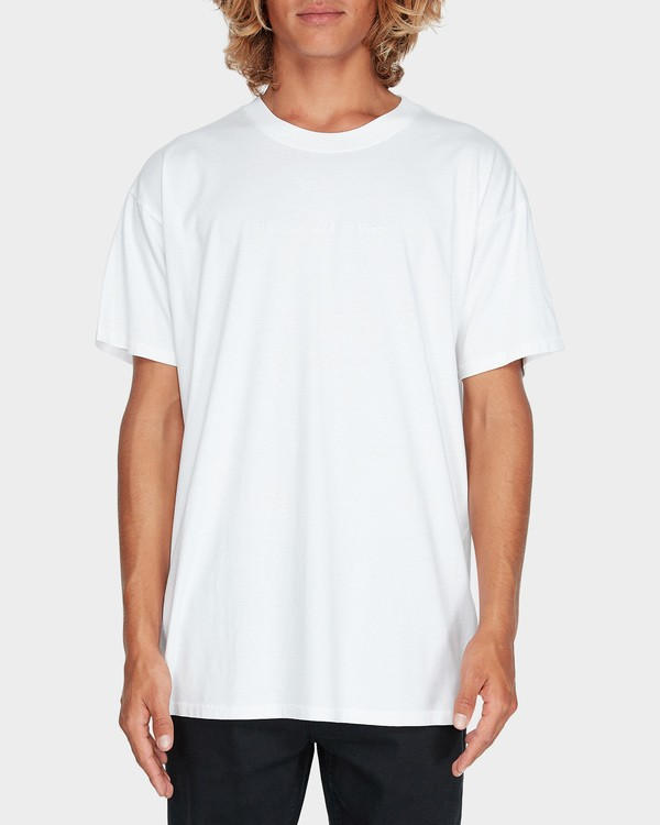 0 WORDSMITH TEE White 9595009 Billabong