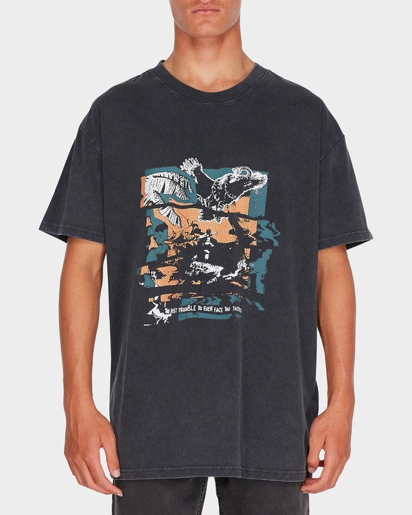 0 HERE COMES FUN TEE Black 9595020 Billabong