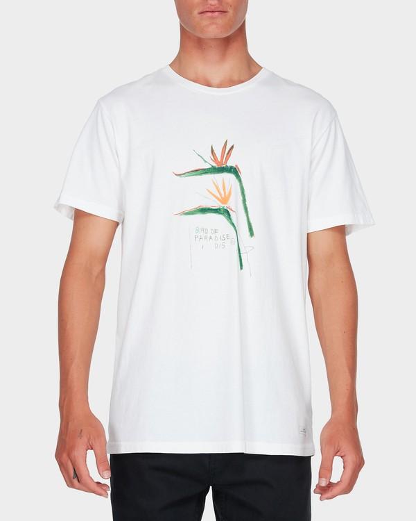 0 BIRD OF PARADISE TEE White 9595051 Billabong