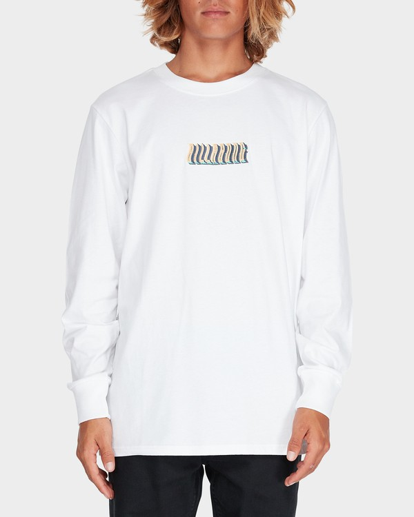 0 DEEP WOBBLE LONG SLEEVE TEE  9595173 Billabong