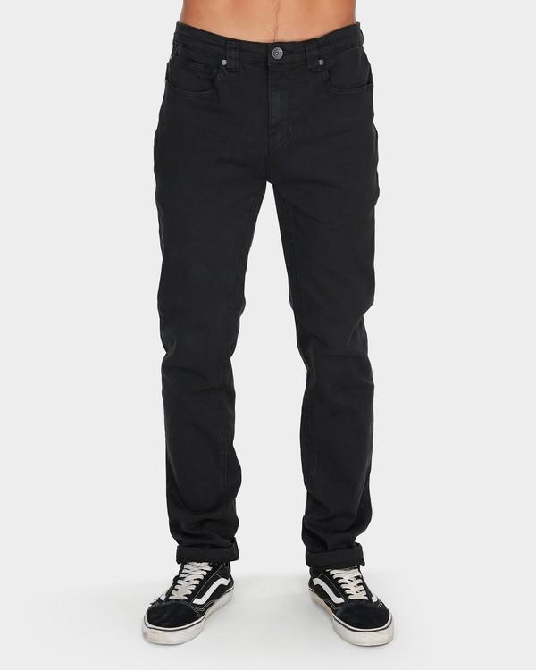0 Outsider Tapered Jeans Black 9595351 Billabong