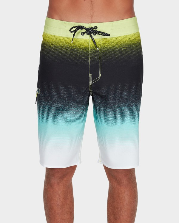 "0 Fluid Airlite 20"" Boardshorts Green 9595401 Billabong"