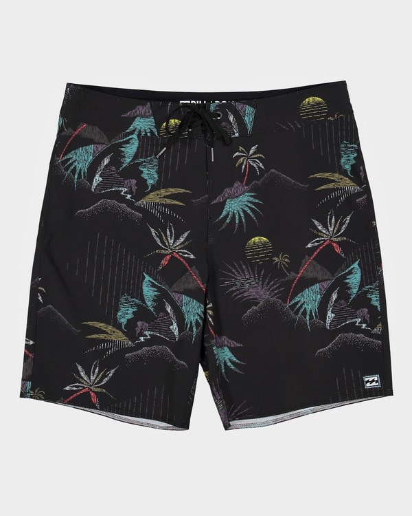 "0 SUNDAYS PRO 18"" BOARDSHORTS Black 9595405 Billabong"