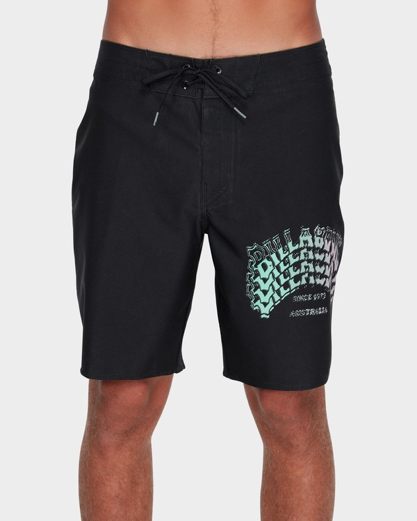 "0 WARP PRO 18"" BOARDSHORT Black 9595409 Billabong"