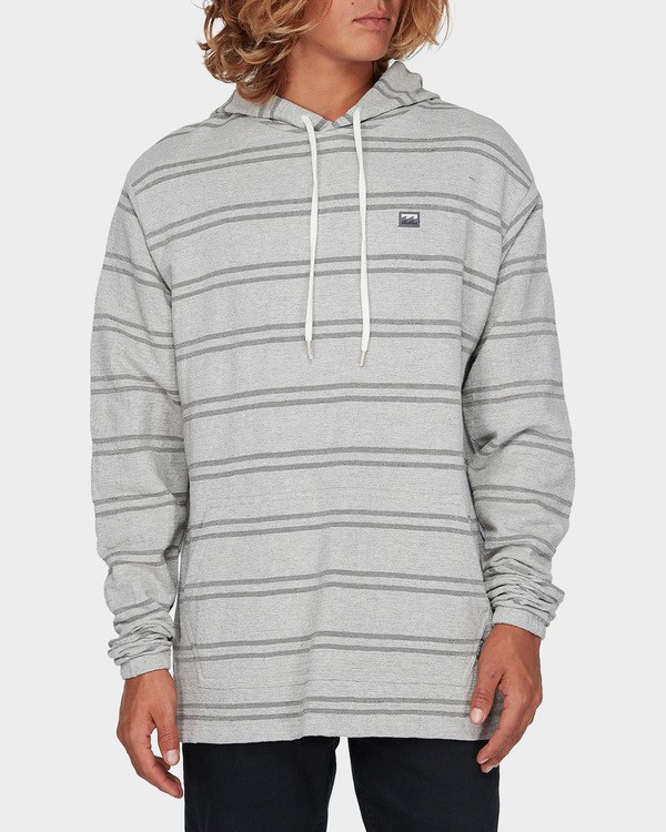 0 FLECKER PULLOVER Grey 9595631 Billabong