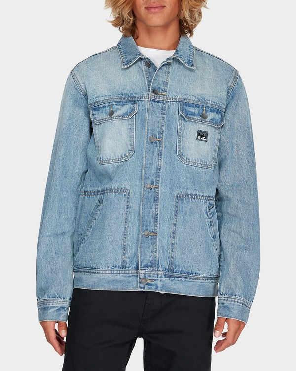0 REVERT DENIM JACKET White 9595905 Billabong