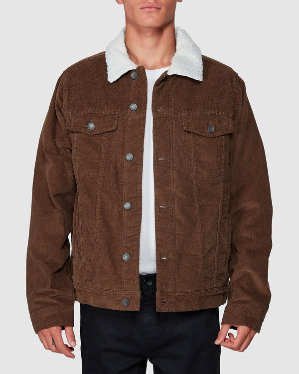 0 Barlow Trucker Jacket Brown 9595912 Billabong