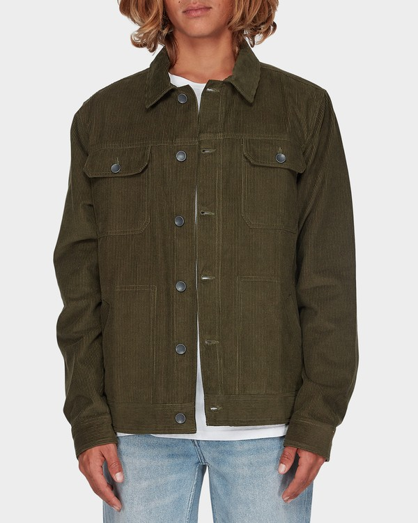 0 The Cord Arch Jacket Green 9595919 Billabong