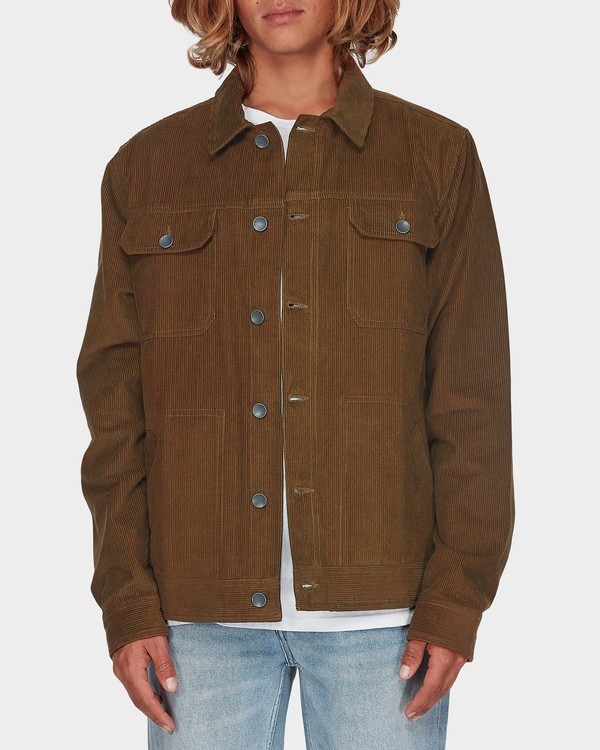 0 The Cord Arch Jacket Brown 9595919 Billabong