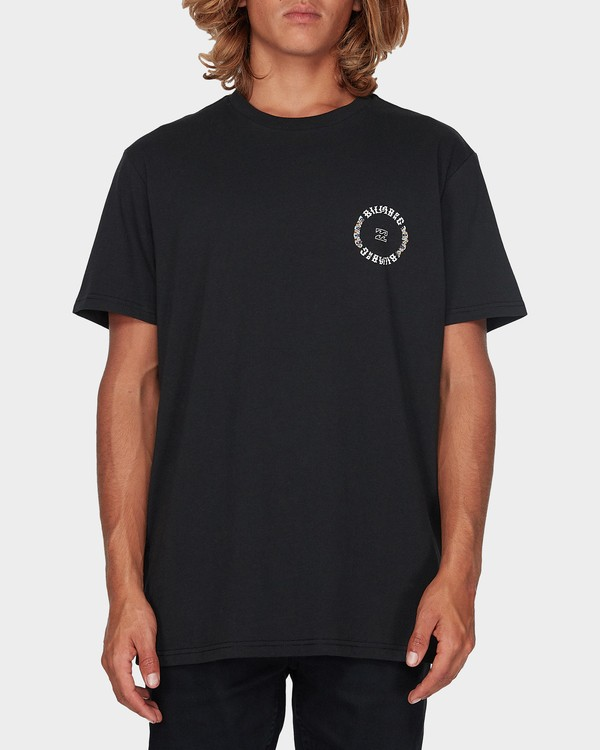 0 CIRCLE WORK TEE Black 9596024 Billabong