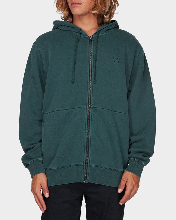0 THICK WAVE WASH FLEECE Green 9596613 Billabong