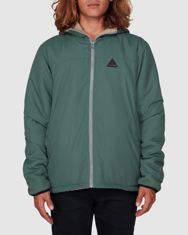 0 Switchback Reversible Jacket Green 9596906 Billabong