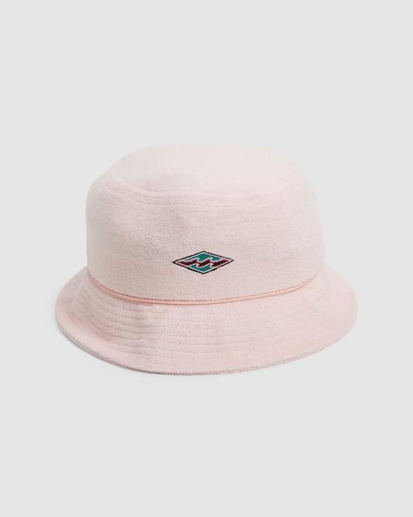 0 Terry Bucket Hat Pink 9603325 Billabong