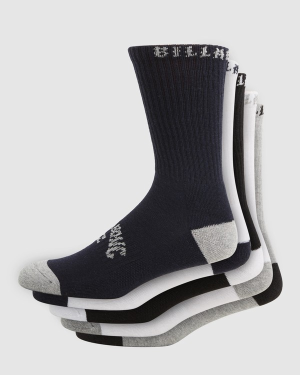 0 Sport Socks 5 Pack Socks Brown 9603601 Billabong
