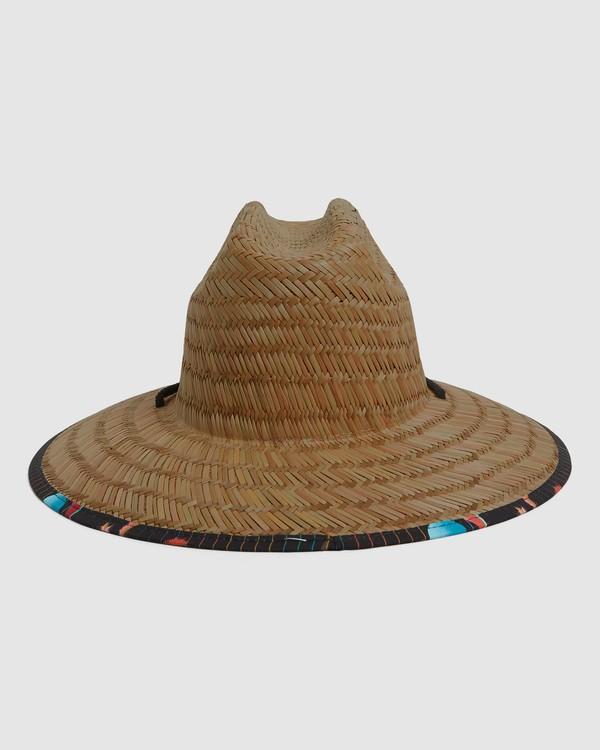 0 Tides Print Straw Hat Blue 9604338 Billabong