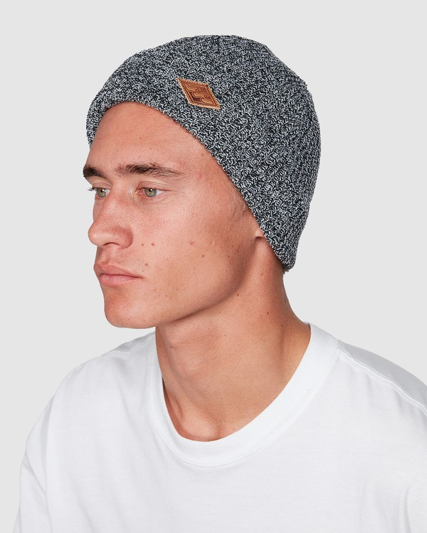 0 Broke Beanie Black 9607362 Billabong