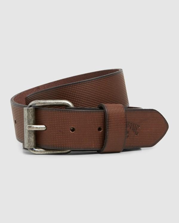 0 Daily Leather Belt Brown 9607653 Billabong