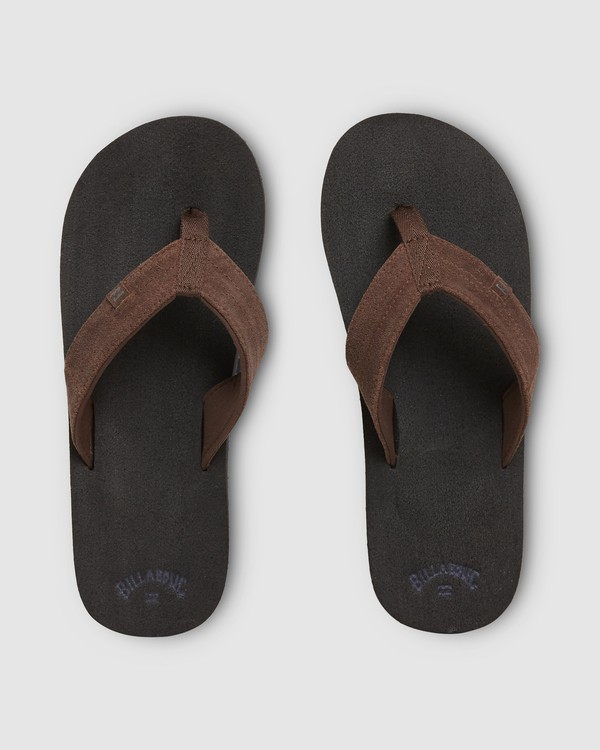 0 Seaway Suede Thongs Black 9607950 Billabong
