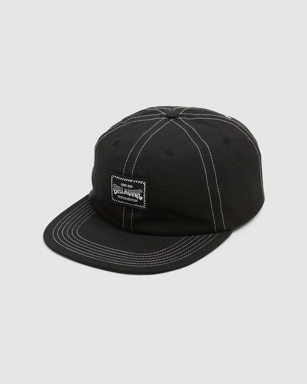 0 Carter Snapback Cap Black 9608304 Billabong