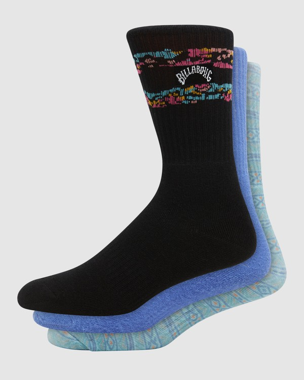 0 Instinct Socks 3 Pack Multicolor 9608607 Billabong