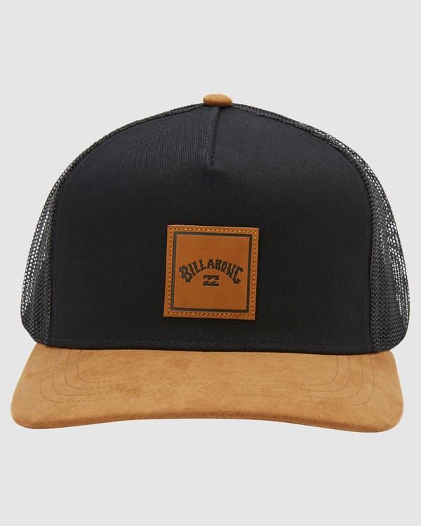0 Stacked Trucker Cap Black 9613319 Billabong