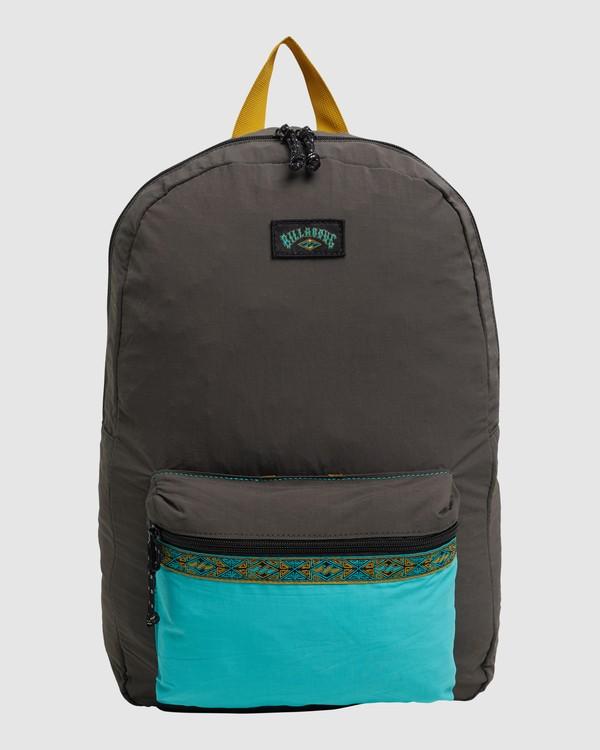 0 Currents Packable Backpack Black 9617003 Billabong