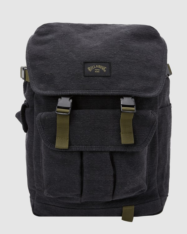 0 Kings Hemp Rucksack Backpack Black 9617004 Billabong