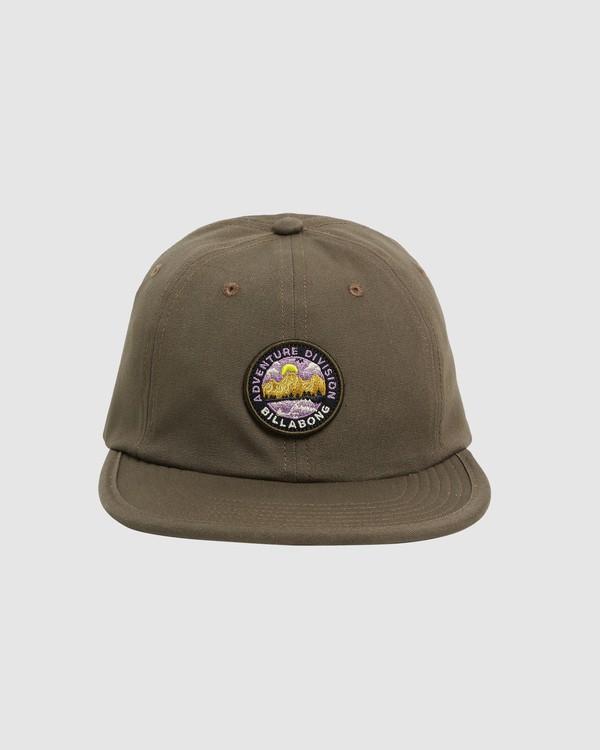 0 Adventure Division Snapback Cap Green 9617317 Billabong