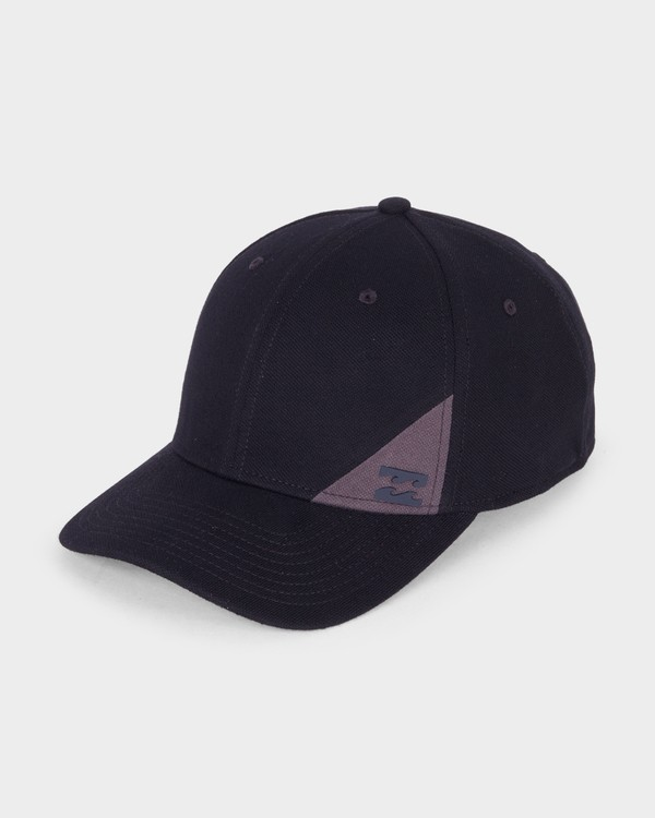 0 Station Stretch Cap Black 9681337 Billabong