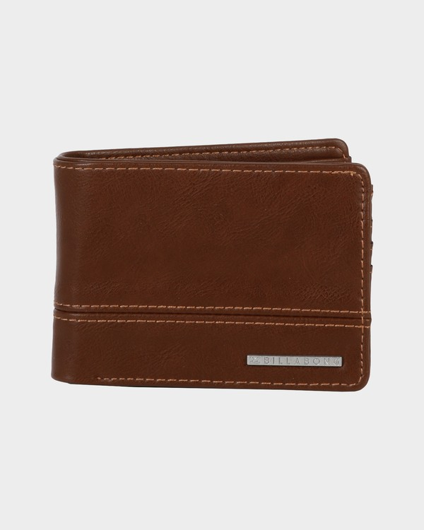 0 DIMENSION SOLIDS WALLET Green 9685195 Billabong