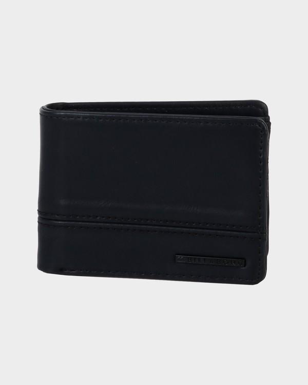 0 Dimensions Solid Wallet Black 9685195 Billabong