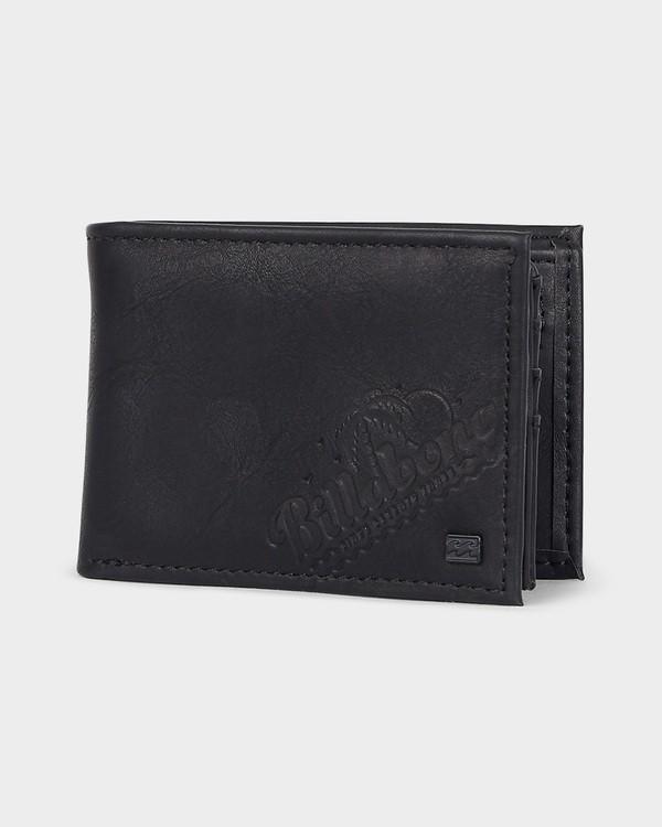 0 Lineup Flip Wallet Black 9691185 Billabong