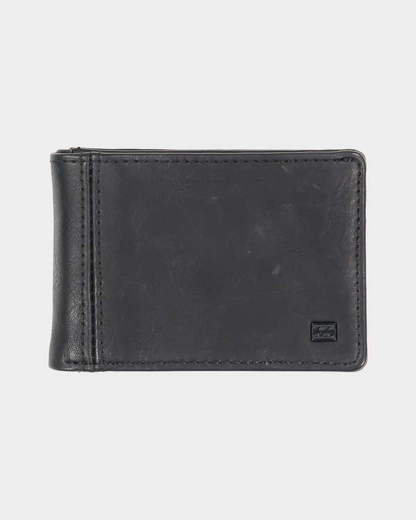 0 Revival Slim-Line Wallet Black 9691186 Billabong