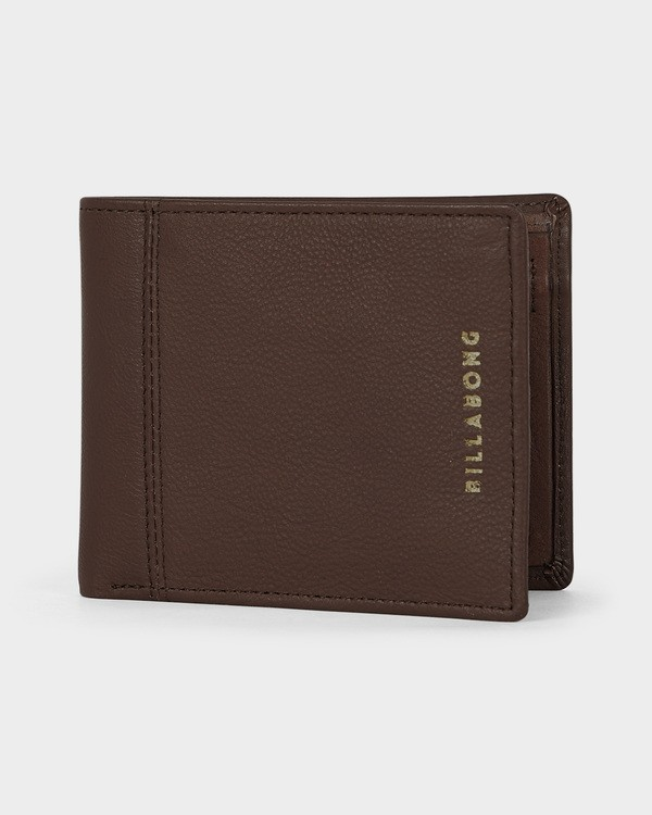0 Jones Rfid Flip Wallet Green 9691198 Billabong