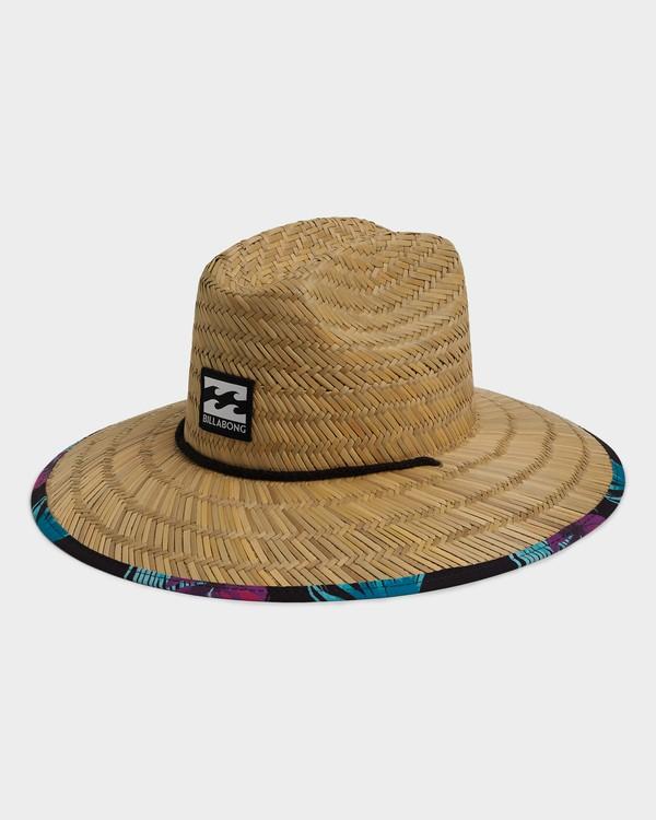 0 TIDES PRINT HAT Black 9691300 Billabong