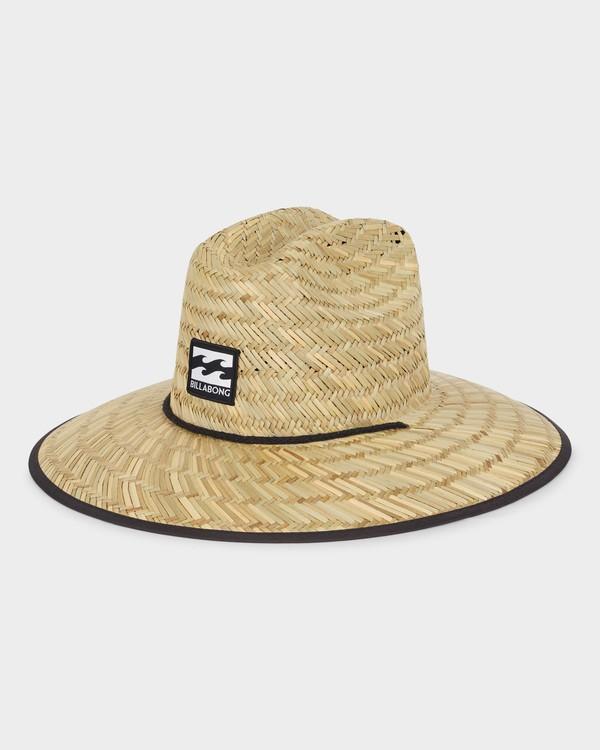 0 TIDES PRINT STRAW HAT Blue 9691300 Billabong